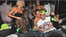 Mario Ballotelli ici entouré de prostitués et d'alcool pour faire la fête