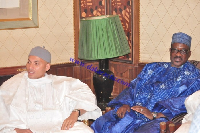 Colloque du Mouridisme au King Fahd Palace : le Pds représenté par Karim Wade, Oumar Sarr et Samuel Sarr (PHOTOS)