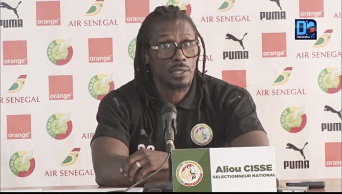 Aliou Cissé : « Beaucoup de joueurs ne sont pas compétitifs… »