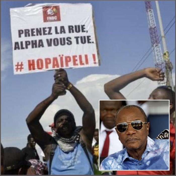 Guinée Conakry : Des organisations internationales de défense des droits humains épinglent le régime d'Alpha Condé.