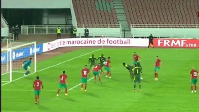 """Amical Maroc - Sénégal : Les """"Lions"""" menés 1 - 0 à la mi-temps..."""