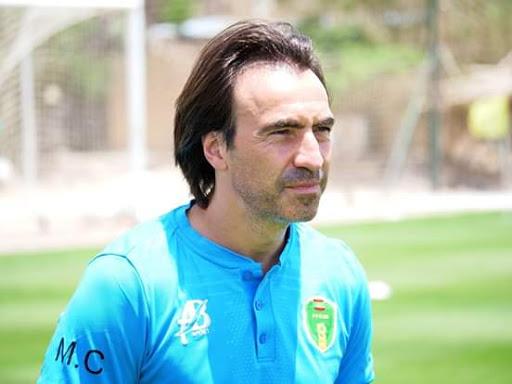 Corentin Martins (Entraîneur Mauritanie) : « On va jouer un bon match, contre la meilleure équipe d'Afrique »