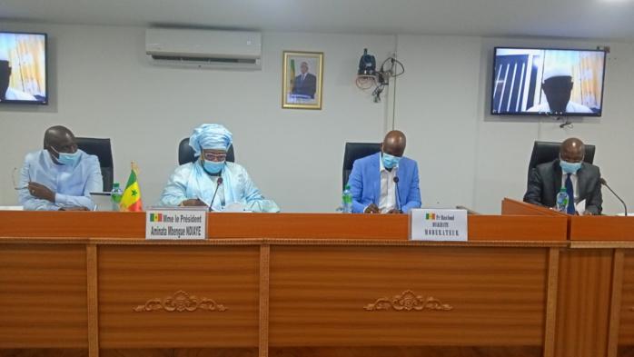 HCCT / Audition de Oumar Guèye : Le financement des collectivités territoriales à l'épreuve de la pandémie.