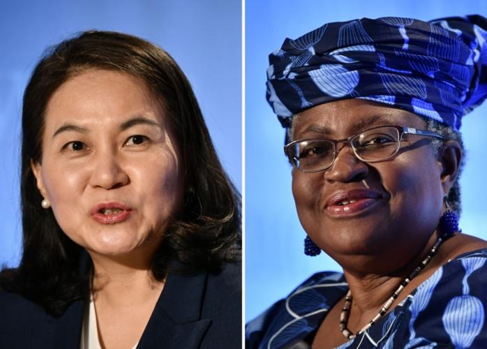 OMC : Les candidates Yoo Myung-hee de la Corée du Sud et Ngozi Okonjo-Iweala du Nigeria pour le dernier round