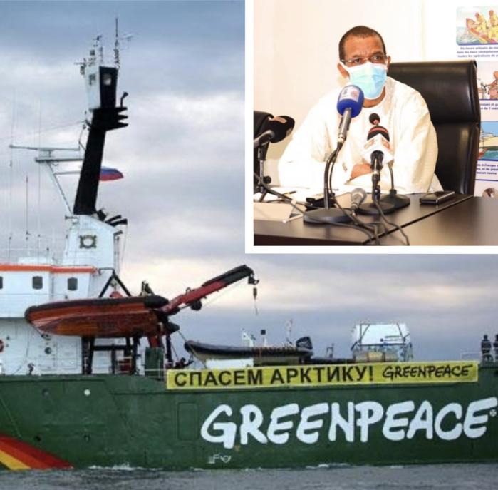 Greenpeace Afrique au ministère des pêches : « Trouver des lacunes juridiques pour accorder des licences aux navires étrangers est contraire à l'éthique »
