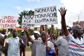 Côte d'Ivoire : L'interdiction de manifestations prolongée jusqu'au 01 novembre.