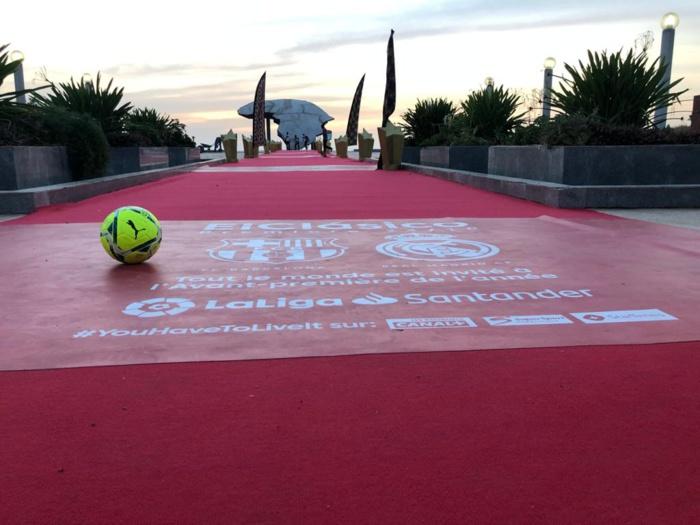 El Clasico Barca – Real Madrid : Laliga déroule le tapis rouge à Dakar, à la place du souvenir.