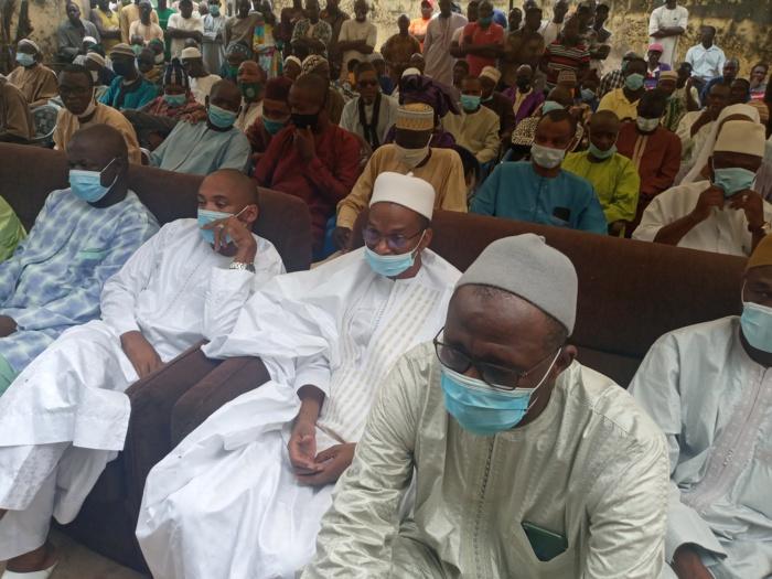 Rappel à Dieu de Moctar Kébé : Moussa Baldé (MAER) présente les condoléances à la famille éplorée…