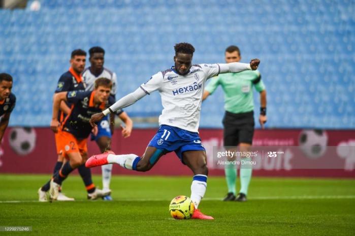 8eme journée Ligue 1 : Boulaye Dia signe un triplé contre Montpellier écrasé 4-0 par Reims.