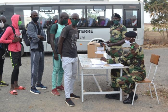 Armée :  Les nouvelles recrues de la zone militaire numéro 1 de Dakar sont convoquées le 01 novembre au bataillon du train.