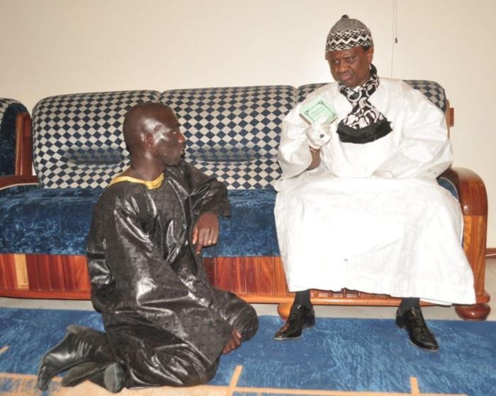 Serigne Modou Kara Mbacké de Darou Mousty à Touba (IMAGES)