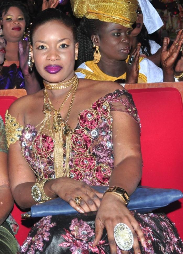 La femme de Ousmane Seck à l'anniversaire de son mari à Sorano