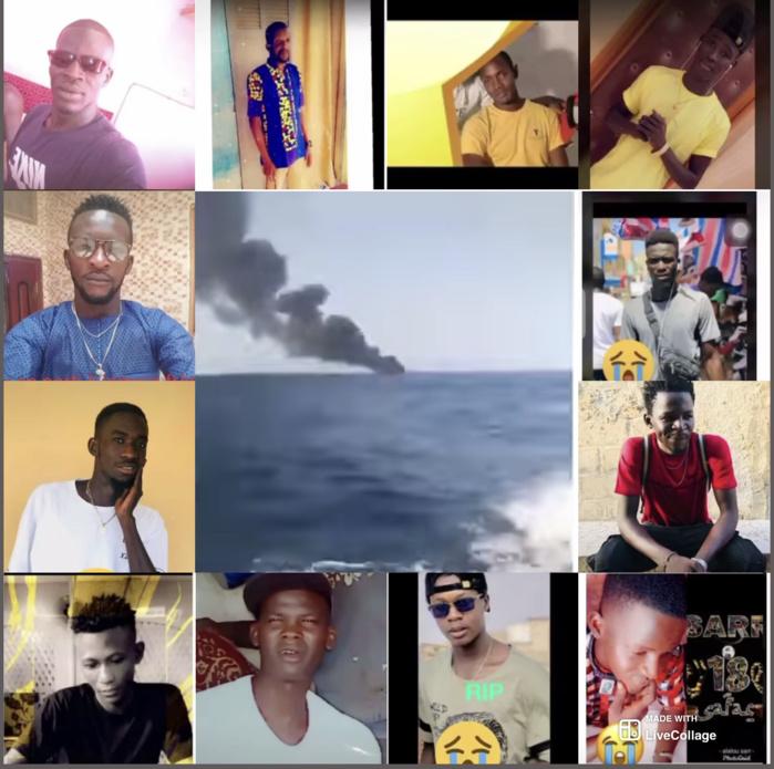 Drame de la migration irrégulière : 140 morts dans la double explosion d'une pirogue à Saint-Louis, 70 en Mauritanie.