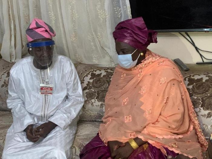 Kaolack : Cheikh Mohamed Mahi Niasse appelle Aminata Touré à continuer à travailler pour le Sénégal.