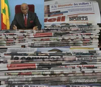 Ici repose la défunte presse privée sénégalaise [Décès survenu le 25 Mars 2012] ( Modou Badiane)