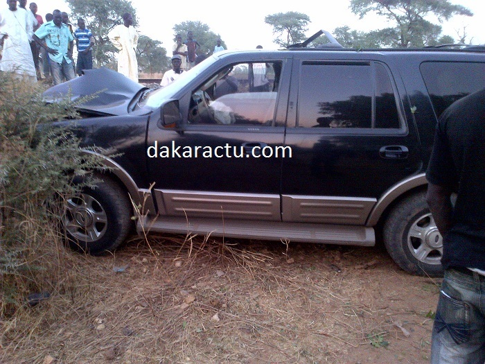 Le ministre conseiller Arona N'doffène Diouf, victime d'un accident (PHOTOS)