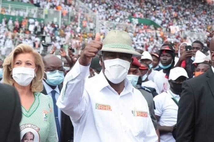 Côte d'Ivoire : Alassane Ouattara réélu pour un troisième mandat avec 94,27% des voix