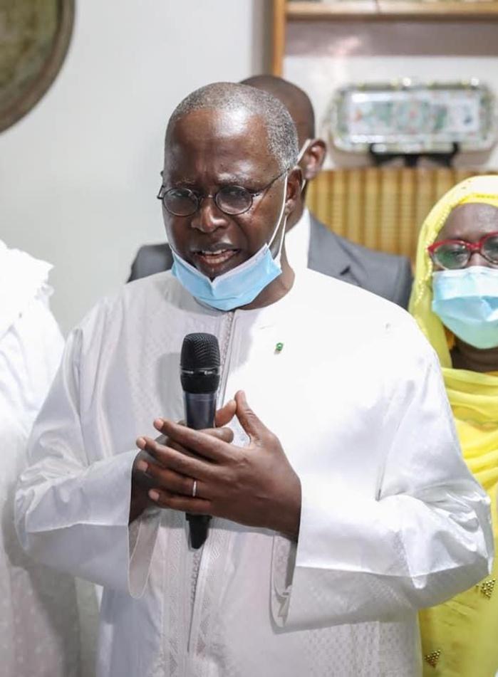 Présentation de condoléances chez Iba Der Thiam : Les remerciements de Mohammad Boun Abdallah Dionne à Macky Sall.