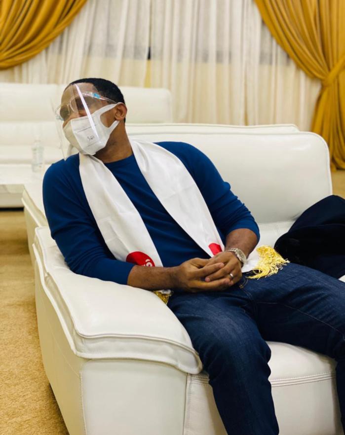 Lancement Holding Bag'Ô : L'ancien international Camerounais, Samuel Eto'o, est à Dakar...