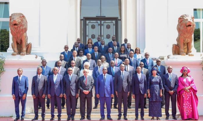 Conseil des ministres : Les premiers mots des ministres entrants