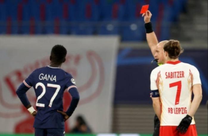 Ligue des Champions : Le PSG s'incline 2-1 contre Leipzig, Gana Guèye exclu !