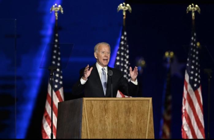 Etats-Unis / Les premiers mots de Joe Biden en tant que président : «L'Amérique va se battre contre le racisme et l'injustice...»