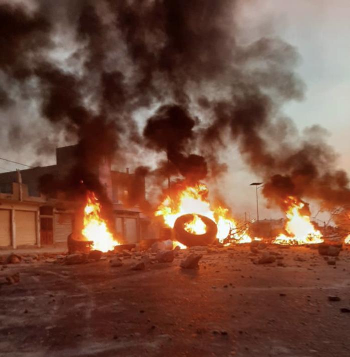 Manifestations à UGB : Des étudiants blessés et un bus incendié.