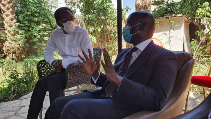 Fann Résidence : Le président Idrissa Seck a présenté ses condoléances à la famille de Al Maktoum.