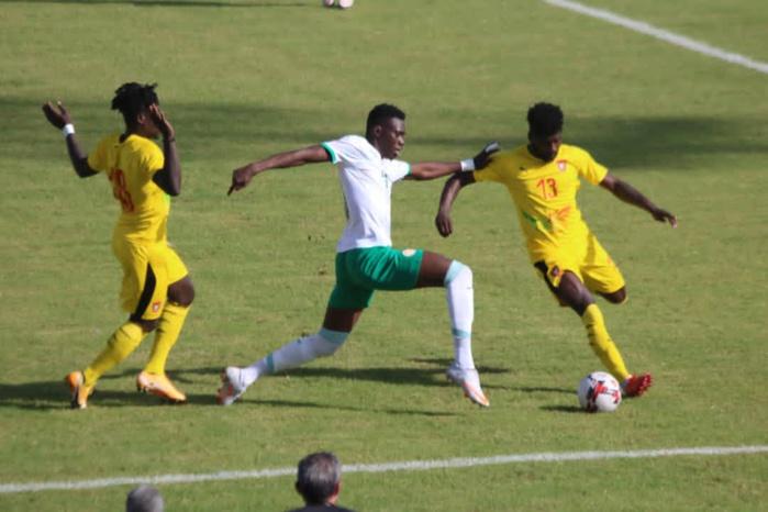 Éliminatoires CAN 2021 : Sadio Mané et Opa Nguette offrent la victoire aux Lions qui dominent la Guinée Bissau 2-0