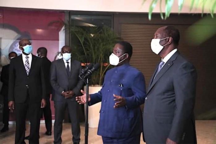 Rencontre avec Ouattara / Henri Konan Bédié : «Par la rencontre d'aujourd'hui, nous avons brisé le mur de glace, de silence»