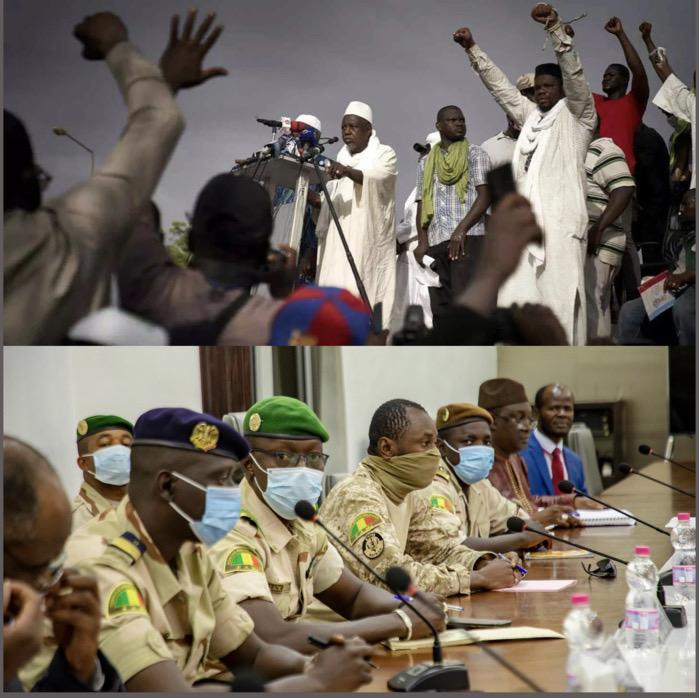 Mali / Mise en place du CNT : Le M5 crache sur les 08 postes, se rebelle et déclenche la lutte.