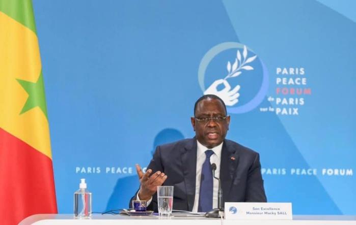 Paris / Macky Sall interpelle l'ONU : « Les règles ne sont pas dans notre intérêt. De toute l'Afrique, aucun État n'est membre permanent  du Conseil de sécurité, c'est une injustice! »