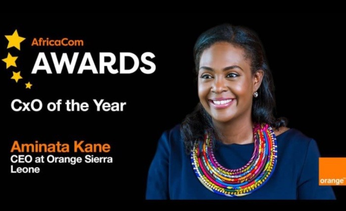 Prix meilleur Dg : Aminata Kane Ndiaye remporte en 2020 le 8ème AfricaCom Awards.