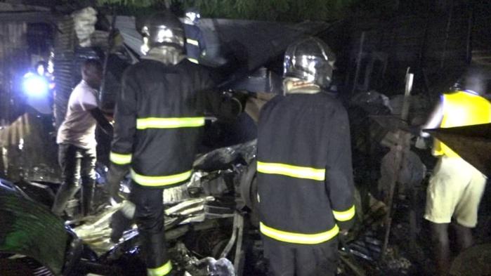 MARCHÉ DE MBACKÉ / Nouvel incendie vite maitrisé par les soldats du feu.