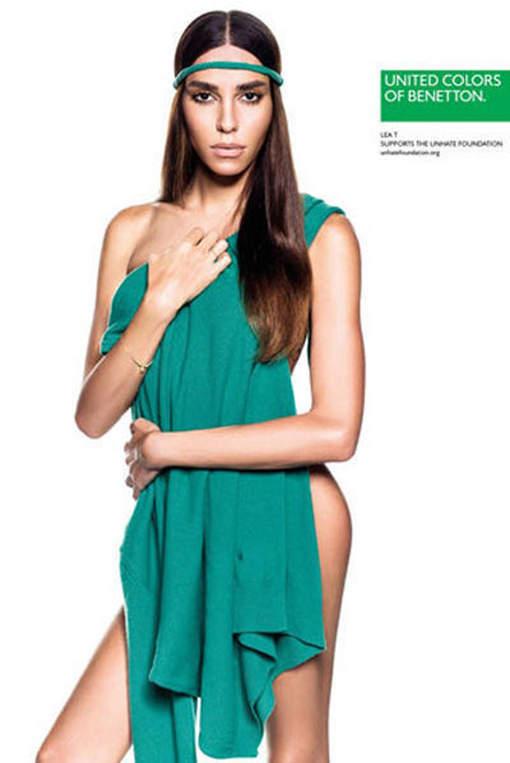 La nouvelle égérie de Benetton est transsexuelle