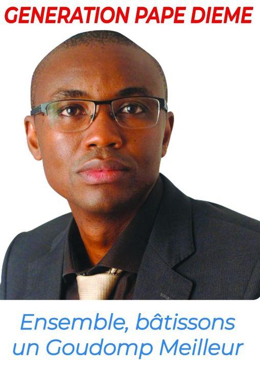 ÉLECTIONS LOCALES 2021 : Pape Mamadou Diémé candidat à la Mairie de Goudomp.