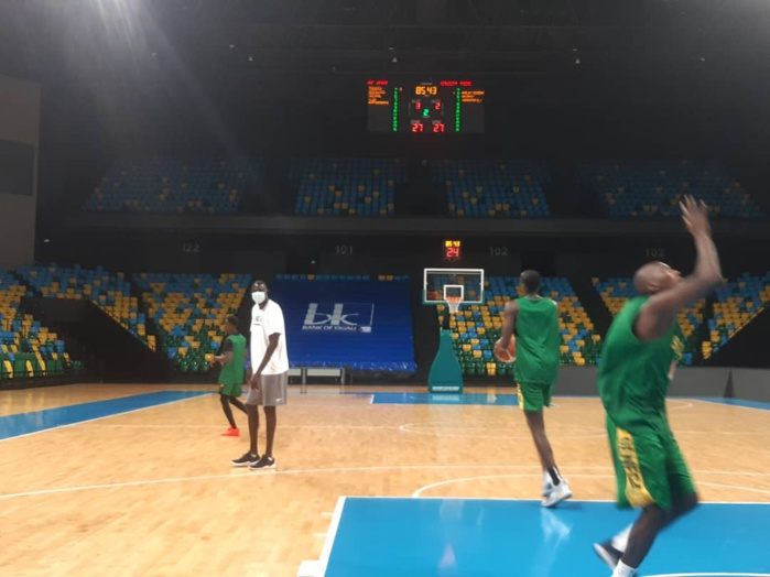 Éliminatoires Afrobasket 2021 : Première séance d'entraînement des Lions à Kigali, le reste du groupe attendu dans les prochaines heures... (Photos)