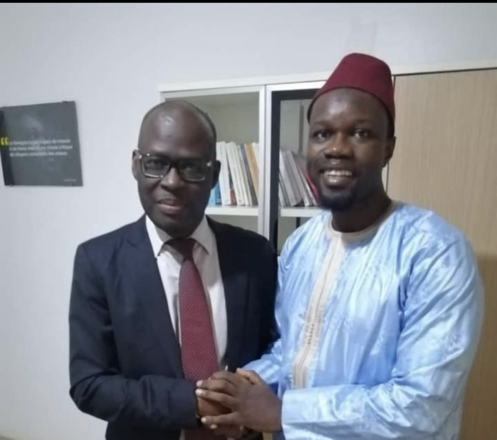 COALITION ? -Ousmane Sonko affirme que Cheikh Bamba Dièye a marqué «son adhésion à son projet».