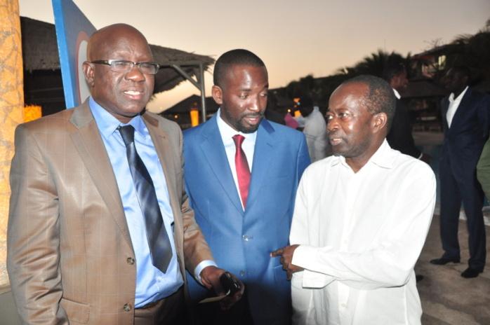 Lancement DAKARACTU MAGAZINE : Serigne Diagne de Dakar actu avec M'baye Guèye, Pdt EMG Universal Automobile et Diagna N'diaye