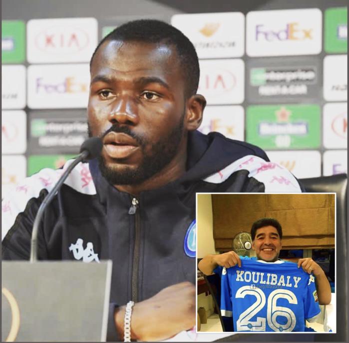 Kalidou Koulibaly à Maradona : «Pour moi, vous aviez des mots que je n'oublierai jamais»