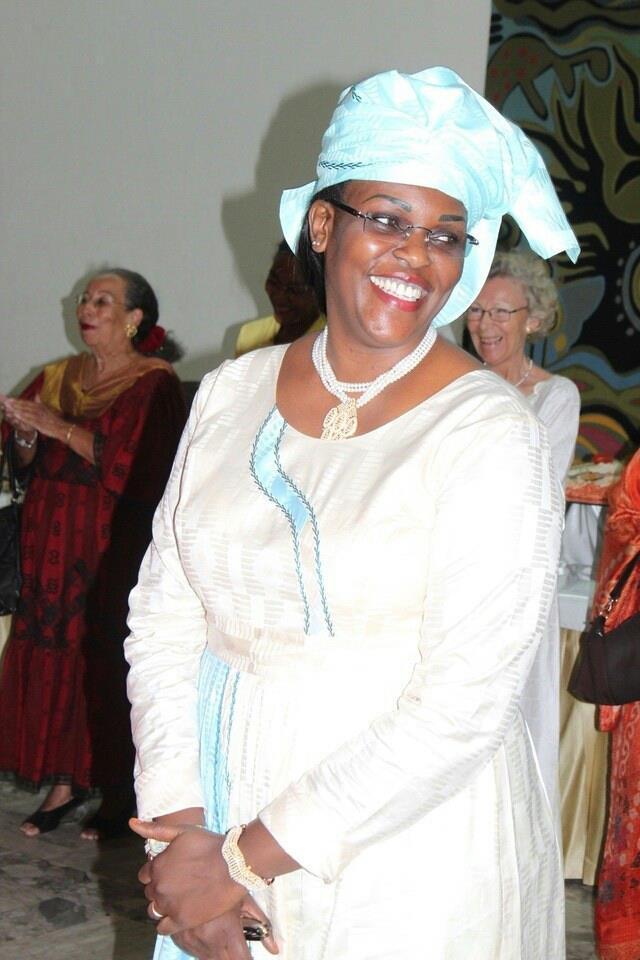 Le sourire radieux de notre Première Dame!