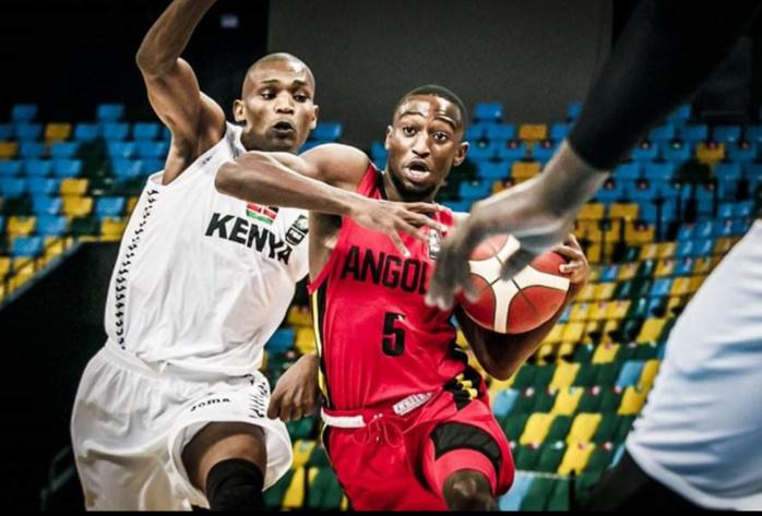 Tournoi qualificatif Afrobasket 2021 : Deuxième victoire pour l'Angola qui domine le Kenya 83-66.
