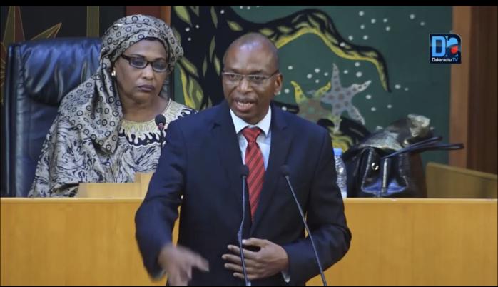 Assemblée nationale : Les détails en chiffres du budget du ministère de l'agriculture et de l'équipement.