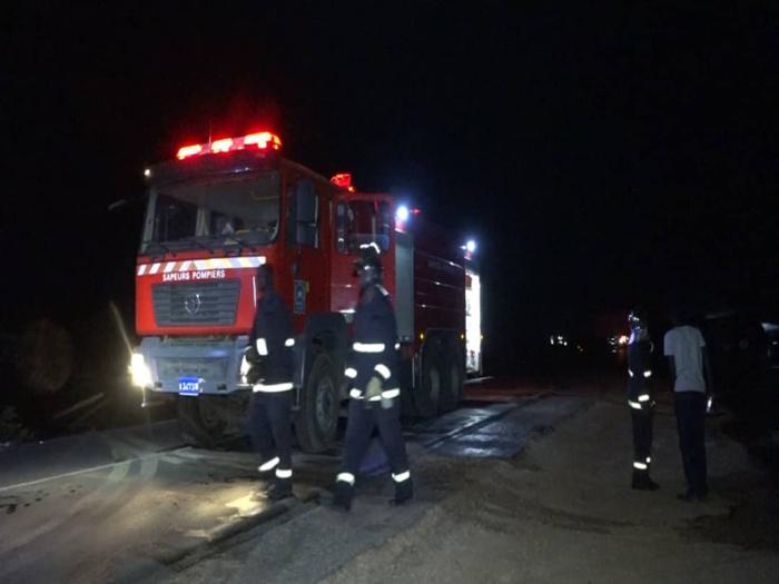 Bilan de l'incendie à Kahone : 03 morts et 06 blessés graves.