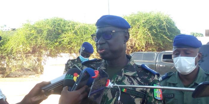 Jean Baptiste Tine, Haut commandant de la gendarmerie nationale à Kolda : « Nous allons implanter bientôt un escadron de gendarmerie mobile à Kounkané… s'il y a des gendarmes c'est parce qu'il y a des populations. »