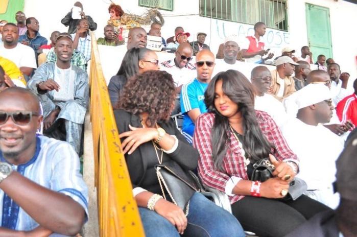 L'épouse de Aziz Ndiaye était venue soutenir son mari