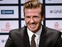 Quand Beckham enlève le haut…