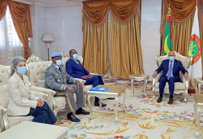 MAURITANIE : Le Chef de la Minusca Mankeur Ndiaye élevé au Grade de Commandeur dans l'Ordre du Mérite National