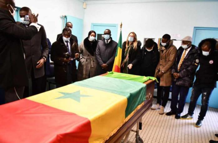 Levée du corps de Pape Bouba Diop (Lens) : Une cérémonie en toute sobriété avant de rallier Dakar.
