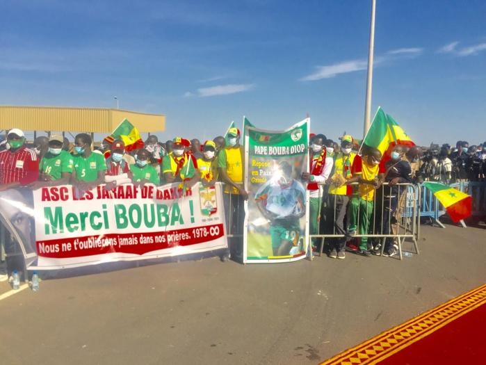 AIBD : L'ASC Jaraaf à l'accueil de la dépouille de Pape Bouba Diop.